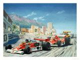 The Monaco Grand Prix Giclee Print