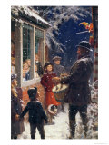 The Entertainer Giclee Print by Percy Tarrant