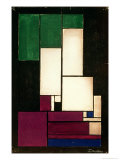 Composition, 1922 Giclee Print by Theo Van Doesburg