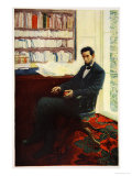 Portrait of Abraham Lincoln Giclee Print by Howard Pyle
