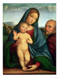 Holy Family Giclee Print by Francesco Francia