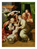 The Holy Family Giclee Print by Pierre Lombard