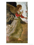 The Annunciating Angel Gabriel Giclee Print by Melozzo da Forl&#237; 