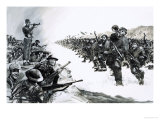 Lieutenant-Colonel Carne Was Ordered to Hold a Vital Road Against the Chinese During the Korean War Giclee Print by Graham Coton