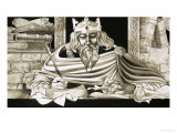 King Alfred Was a Keen Scholar Giclee Print by Richard Hook