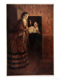 The Secret Room Giclee Print by Howard Pyle