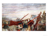 The Last March of Edward I Giclee Print by William Bell Scott
