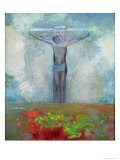The Crucifixion, c.1910 Giclee Print by Odilon Redon