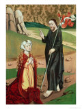 Christ Appears to Mary Magdalene Giclee Print by Master Of Janosret