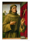 St. Francis of Assissi, c.1490 Giclee Print by Francesco Francia