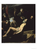The Martyrdom of St. Andrew Giclee Print by Jusepe de Ribera