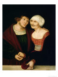 The Infatuated Old Woman Giclee Print by Lucas Cranach the Elder