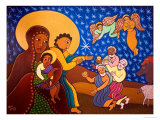 The Holy Family at Nativity, 2007 Giclee Print by Laura James
