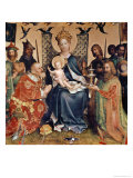 Adoration of the Magi Altarpiece Giclee Print by Stephan Lochner
