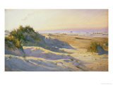 The Dunes, Sonderstrand, Skagen Giclee Print by Holgar Drachman