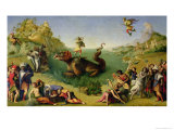 Perseus Rescuing Andromeda Giclee Print by  Piero di Cosimo