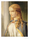 Cordelia Disinherited, 1850 Giclee Print by John Rogers Herbert