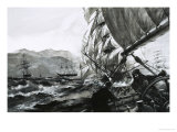 The Golden Age of Sail: Champions of the China Seas Giclee Print by Graham Coton