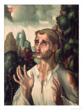 St. Stephen Giclee Print by Luis De Morales