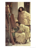 Visit to the Studio, 1873 Giclee Print by Sir Lawrence Alma-Tadema