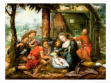 Adoration of the Shepherds Giclee Print by Franz Verbeeck Or Verbeecq