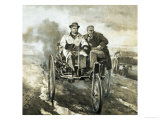 They Made Headlines: Birth of the Motor Car Giclee Print by Neville Dear