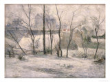Winter Landscape, 1879 Giclee Print by Paul Gauguin