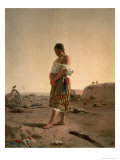 The Paraguayan in Her Desolate Mother Land, 1880 Giclee Print by Juan Manuel Blanes