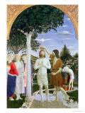Baptism of Christ Giclee Print by Piero della Francesca