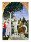 Baptism of Christ Giclee Print by  Piero della Francesca