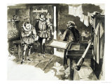 The Invention of the Printing Press Giclee Print by Neville Dear