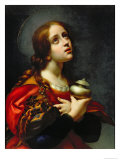 Mary Magdalene, 1660-70 Gicle-tryk af Carlo Dolci