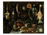 Still Life of Game Birds, 1624 Reproduction proc&#233;d&#233; gicl&#233;e par Jacopo da Empoli 