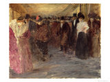 The Music Hall, c.1890 Giclee Print by Jean Louis Forain