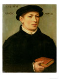 Portrait of a Young Man, 1528 Giclee Print by Bartholomaeus Bruyn
