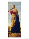 The Muse Euterpe Giclee Print by Francesco del Cossa