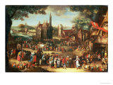 Kermesse at Avdenarde Giclee Print by David Vinckboons