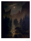 Clearing in the Forest Giclee Print by Caspar David Friedrich