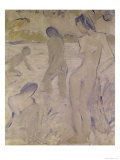 The Bathers Giclee Print by Otto Muller