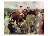 The Horse-Race, c.1890 Giclee Print by Jean Louis Forain