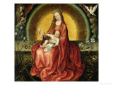 The Virgin and Child Giclee Print by Master of Flemalle 