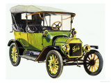 Ford Model T Giclee Print