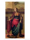 St. Catherine of Alexandria Giclee Print by Fernando Yanez De Almedina