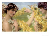 When Flowers Return Giclee Print by Sir Lawrence Alma-Tadema