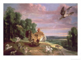 The Hawk and the Hen Giclee Print by Frans Snyders Or Snijders