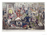 The Union Club Giclee Print by James Gillray