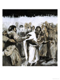 They Made Headlines: Assassination of a Nation's Leader - Gandhi Giclee Print by Neville Dear