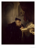 Philosopher, 1635 Giclee Print by Salomon Koninck