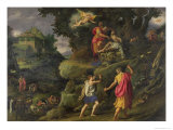 Sacrifice of Isaac, 1601 Giclee Print by Alessandro Allori