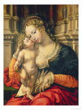 The Virgin and Child, c.1527 Giclee Print by Peter Mabuse